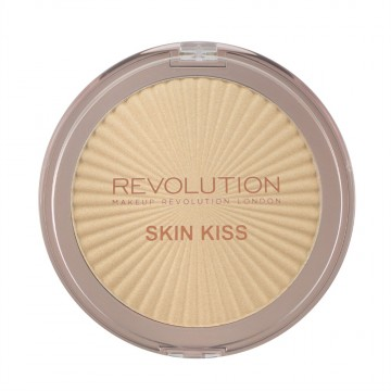Makeup Revolution Rozjasňovač Skin Kiss - Golden Kiss