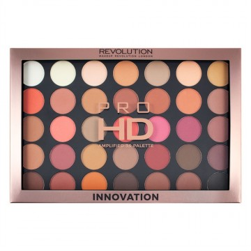 Makeup Revolution HD Paletka 35 očních stínů Amplified - Innovation