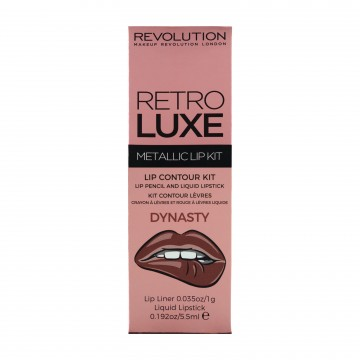 Revolution, Retro Luxe Kits Metallic Dynasty, sada na rty