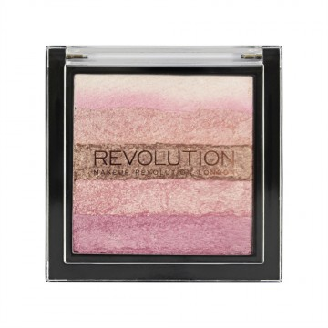 Makeup Revolution Shimmer Brick, Pink Kiss