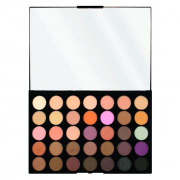 Revolution, Pro HD Palette Amplified 35 Neutrals Warm, paletka očních stínů