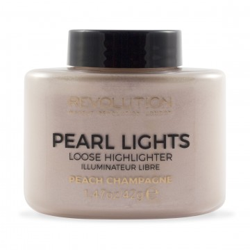 Revolution, Pearl Lights Loose Highlighter Champagne, rozjasňovač