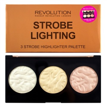 Makeup Revolution Paletka rozjasňovačů - Strobe Lighting