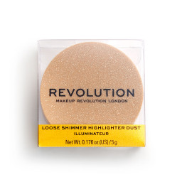 Revolution, Precious Stone Loose Highlighter Rose Quartz, rozjasňovač
