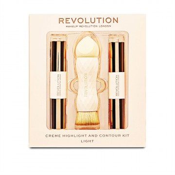 Revolution, Crème Highlight and Contour Kit Light, konturovací sada