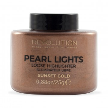 Revolution, Pearl Lights Loose Highlighter Sunset Gold, rozjasňovač