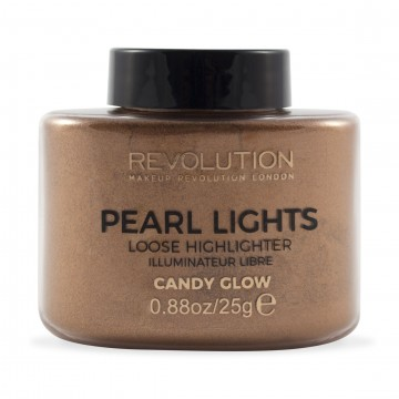 Revolution, Pearl Lights Loose Highlighter Candy Glow, rozjasňovač