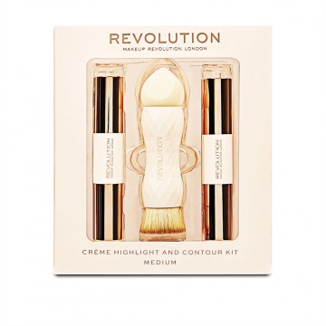 Revolution, Crème Highlight and Contour Kit Medium, konturovací sada